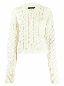 Joseph cable knit jumper - NEUTRALS