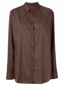 Matteau relaxed fit shirt - Brown