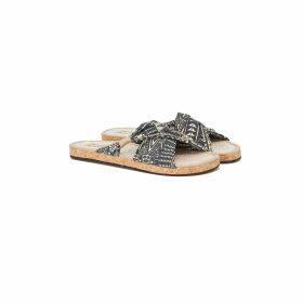 Castlebird Rose - Peacock Scarf Purple