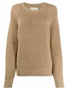 Mara Hoffman Avery oversized jumper - NEUTRALS