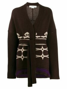Golden Goose Nanten belted cardigan - Brown