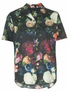 Adam Lippes floral print shirt - Black