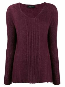Roberto Collina fine knit jumper - PURPLE