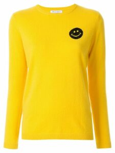 Bella Freud Happy Smile print jumper - Yellow