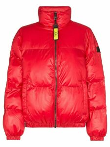 Norden Mia cropped puffer jacket - Red