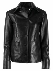 Givenchy fitted shirt jacket - Black