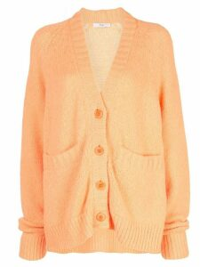 Tibi Cozette cardigan - ORANGE
