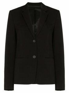 Helmut Lang single-breasted blazer - Black