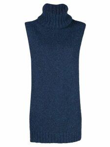Tibi sleeveless knitted top - Blue