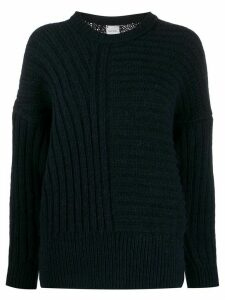 Paul Smith dropped shoulder jumper - Blue