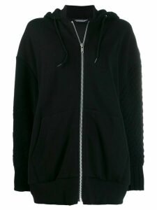Undercover oversized hooded sweatshirt - Black