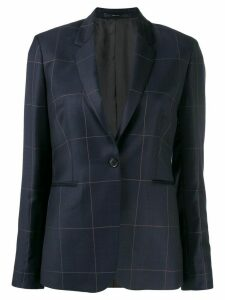 Paul Smith check blazer - Blue