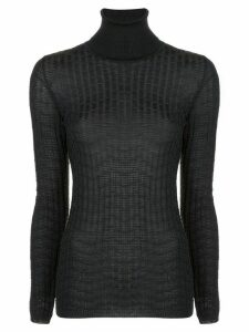 M Missoni textured turtle jumper - Black