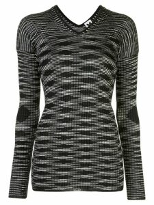 M Missoni pattern knit jumper - Black