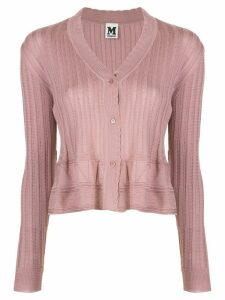 M Missoni ribbed cardigan - PINK