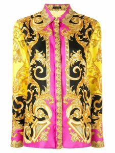Versace Printed Silk Shirt - Multicolour
