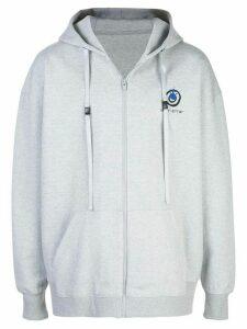 Ader Error x 10 Corso Como zip hoodie - Grey