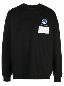 Ader Error x 10 Corso Como logo T-shirt - Black
