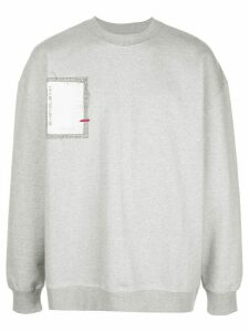 Ader Error 10 Corso A sweatshirt - Grey