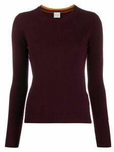 Paul Smith colour block jumper - Red