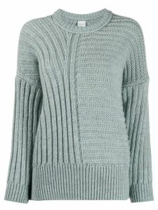 Paul Smith cable knit jumper - Blue
