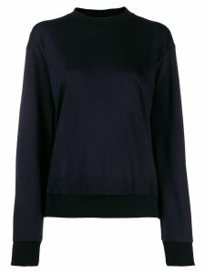 Paul Smith multicoloured stripe detail jumper - Black