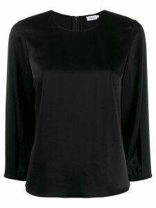 Filippa-K Delphi draped-sleeve blouse - Black