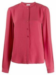 Filippa-K Adele Mandarin collar shirt - PINK