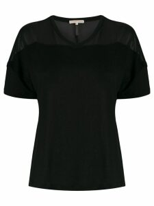 Filippa-K Tencel v-neck T-shirt - Black