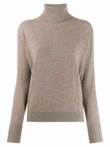 Filippa-K fine knit roll neck jumper - NEUTRALS