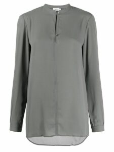 Filippa-K Ada stand collar blouse - Green