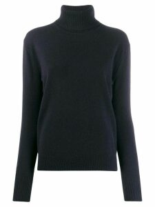 Filippa-K fine knit roll neck jumper - Blue