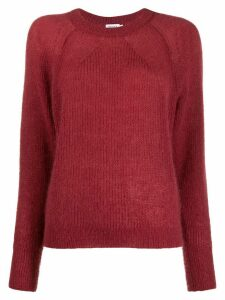 Filippa-K ribbed crew neck jumper - PINK