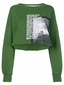 Each X Other long sleeved loose sweatshirt - Green