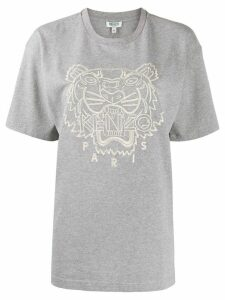 Kenzo Tiger embroidered T-shirt - Grey