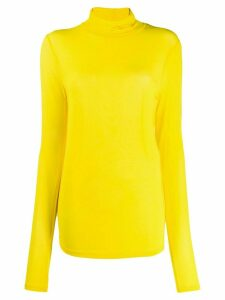Isabel Marant slim-fit turtle neck top - Yellow