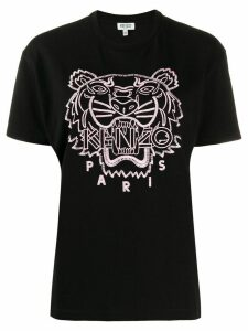 Kenzo Tiger embroidered T-shirt - Black