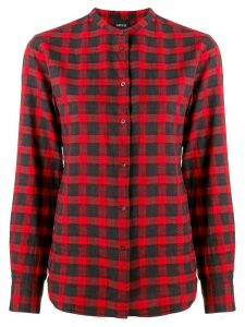 Aspesi plaid print shirt - Red