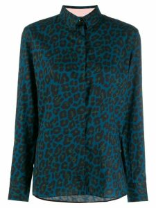 Paul Smith leopard print shirt - Blue