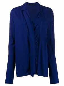Haider Ackermann relaxed fit blouse - Blue