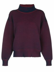Nagnata ribbed loose-fit sweatshirt - Blue