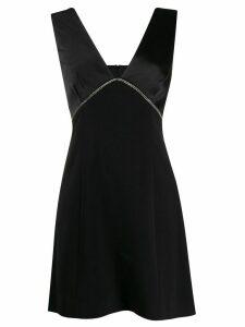 Three Floor Peretti embellished dress - Black