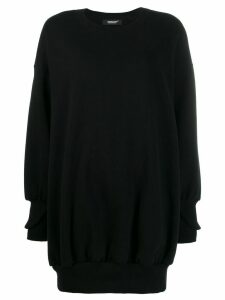 Undercover oversized zipped sweatshirt - Black