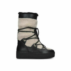 Carvela Tekky - Black Snow Boots