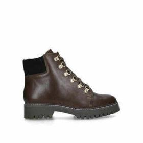 Carvela Stolen - Brown Lace Up Hiker Boots