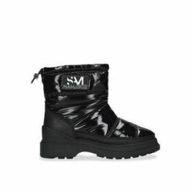 Sam Edelman Carlton Wp - Black Patent Snow Boot