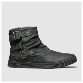 Blowfish Grey Francesca Shearling Boots