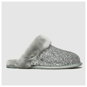 Ugg Silver Scuffette Ii Cosmos Slippers