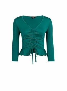 Womens **Lola Skye Green Channel Top, Green