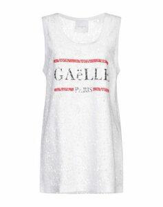 GAëLLE Paris TOPWEAR Vests Women on YOOX.COM